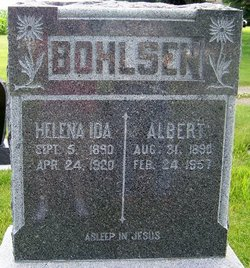 "Helena Ida ""Lena"" <I>Gerdes</I> Bohlsen"