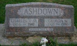 Georgia M <I>Shumate</I> Ashdown