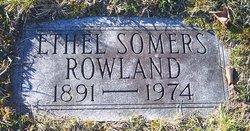 Ethel Mae <I>Somers</I> Rowland