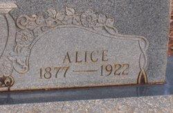 Alice <I>Pinson</I> Shackelford