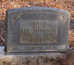 Willie Etta <I>Chase</I> Shamblin