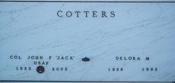 "JOHN FRANCIS ""JACK"" COTTERS"