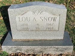 Lou A <I>Wallace</I> Snow