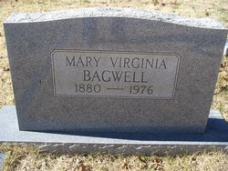"Mary Virginia ""Virgie"" Bagwell"