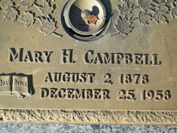 Mary Elizabeth <I>Hatten</I> Campbell