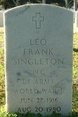 Leo Frank Singleton