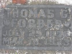 Thomas George Forbes