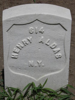 Pvt Henry A. Aldoes