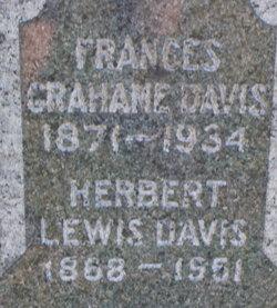 Frances <I>Grahame</I> Davis