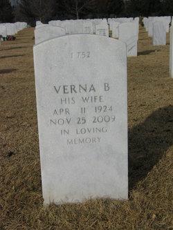 Verna B <I>Prue</I> Bonser