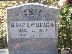 Minnie Ola <I>Harrelson</I> Williamson