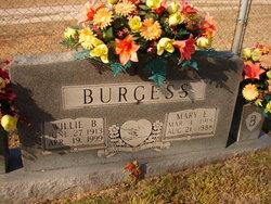 Mary Ellen <I>Scarlett</I> Burgess