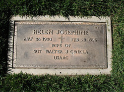 Helen Josephine Cwikla