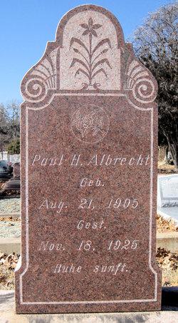 Paul Henry Albrecht