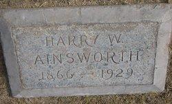 Harry W Ainsworth
