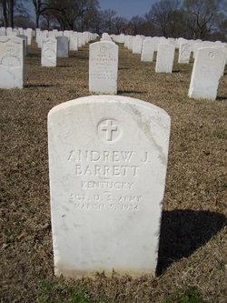 Andrew J Barrett