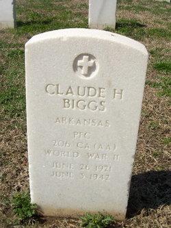 Claude H Biggs