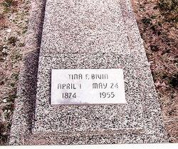 Tina Frances <I>Hunt</I> Bivin