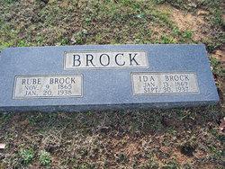 "Reuben B ""Rube"" Brock"