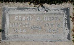 """Frederick Albert """"Frank"""" Deeds"""