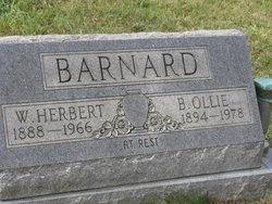 B. Ollie Barnard