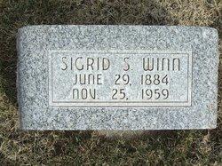 Sigrid Axlin <I>Swanson</I> Winn