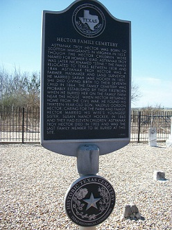 Hector  Family Cemetery