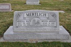 Ardella <I>Waite</I> Mertlich