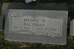 Mildred Marie <I>Fleming</I> Bachman