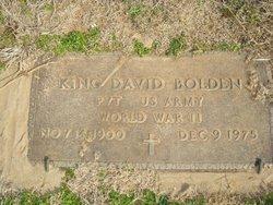 King David Bolden