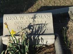 George Washington Bowman