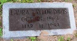 Laura <I>Taylor</I> Davis