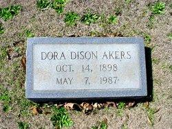 Dora <I>Dison</I> Akers