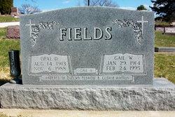 Opal M <I>Meese</I> Fields