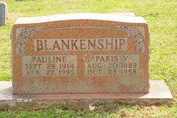 Pauline <I>Hillard</I> Blankenship