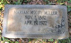 Marian <I>McCoy</I> Miller