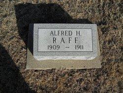 Alfred H Raff