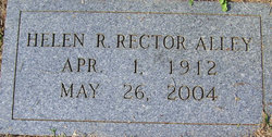 Helen R. <I>Rector</I> Alley