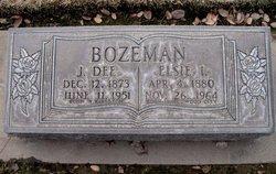 Elsie Irma <I>Felt</I> Bozeman