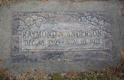Raymond Newman Anderson