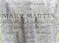 Mary <I>Marr</I> Martin