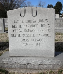 Bettie <I>Harwood</I> Jones