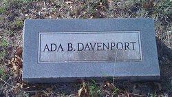 Ada <I>Adams</I> Davenport