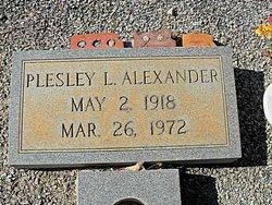 Plesley Lyle Alexander