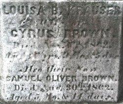 Louisa Bushar <I>Krauser</I> Brown