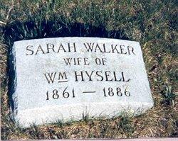 Sarah Ann <I>Walker</I> Hysell