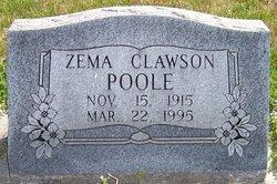 Zema <I>Clawson</I> Poole
