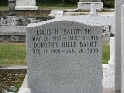 Dorothy Mary <I>Hille</I> Balot