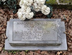 Margaret <I>Daniels</I> Anderson