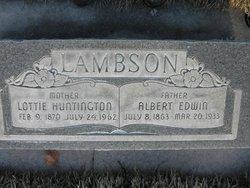 Lottie <I>Huntington</I> Lambson